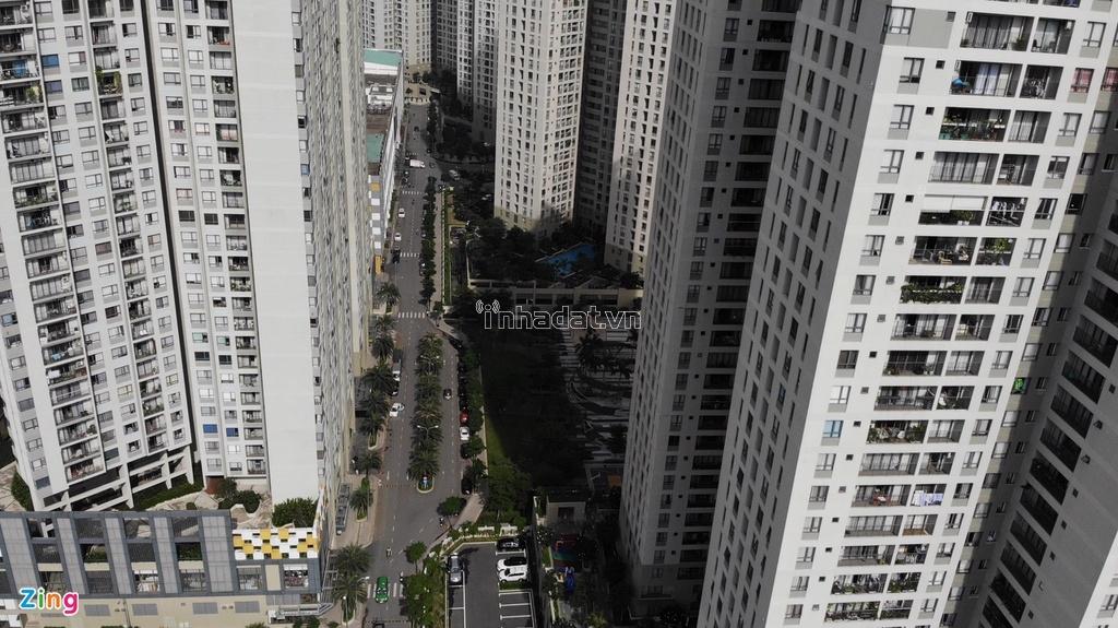 Masteri Thảo Điền có tổng diện tích xây dựng là 79.839 m2