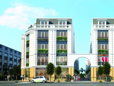 Căn Góc nhà phố đường Đông Sơn -05 dự án KĐT Eurowindow Garden City.