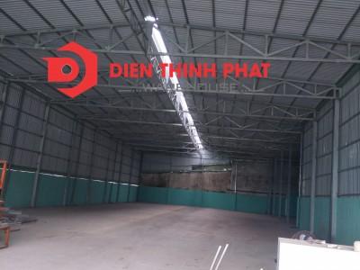 cho thuê nhà xưởng đường Tây Lân quận Bình Tân 360m giá 27tr