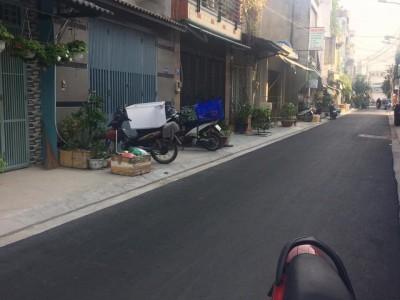Bán nhà mặt tiền Đường Số 1, Phường BHHA, Quận Bình Tân. Giá : 2,7 tỷ thương lượng nhẹ.