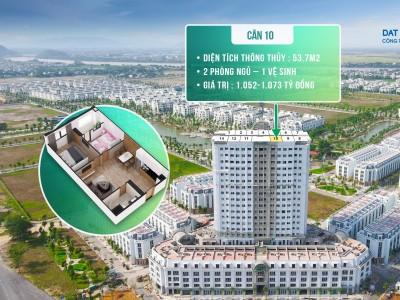 Bán gấp căn hộ 2 phòng ngủ - ngay cạnh TT Hành chính mới TP Thanh Hóa