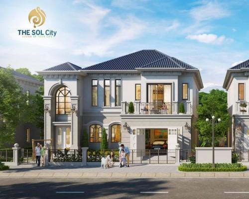 THE SOL CITY - Thành phố vệ tinh Nam Sài Gòn ở Bình Chánh
