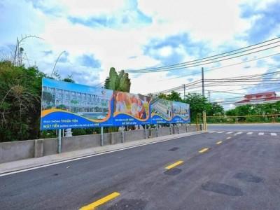 Bán đất nền thổ cư ( có sổ riêng )  huyện CỦ CHI gần phim trường VTV