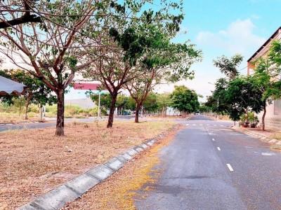 Đất Long An Khu Tái Định Cư xây dựng Tự Do Mặt tiền đường đôi số 17, Đường 6m lề 3m. Giá 1 tỷ 680 triệu.