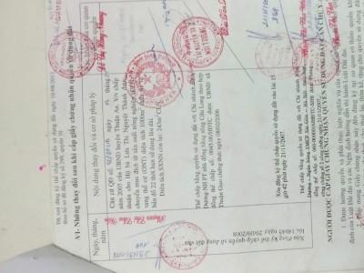 Bán khu nhà trọ thổ cư đang cho thuê tại TP. Thuận An, Bình Dương. Giá 25triệu / m2.