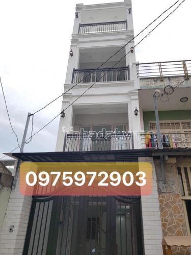 Cho thuê nhà mặt tiền gần ngã 3 Phan Đăng Lưu, Nguyễn Văn Đậu, P5, Quận Phú Nhuận. 1 trệt, 3 lầu. Giá: 30 triệu.
