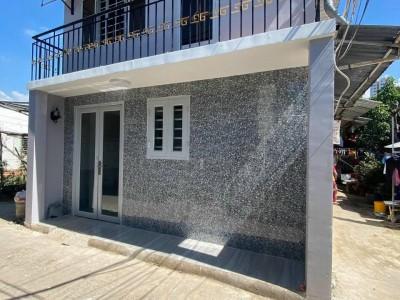 bán nhà 1 lầu hxh 360 phạm hữu lầu dtsd 45m2 nhà mới đẹp vào ở liền