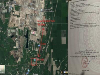 1000m2 cạch khu công nghiệp, Sổ Hồng sẵn 1tr3/m2