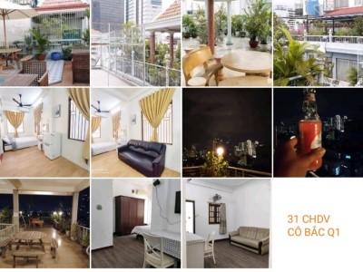 Hợp tác kinh doanh và đầu tư dòng tiền bất động sản cho thuê cùng Ahu House. Địa chỉ: Tòa nhà Cô Bắc, Q1. Giá thuê tháng: 125 triệu.