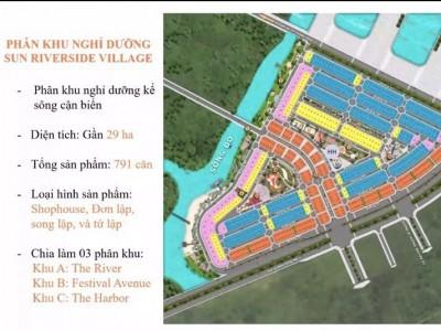 nhận booking online khu đô thị nghỉ dưỡng Sun Riverside village  Sầm Sơn
