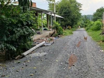 Bán đất đường đá xanh, 1/ đường Bến Đình, khu dân cư xã An Nhơn Tây Củ Chi. Bán nhanh 1,1 tỷ bớt lộc.
