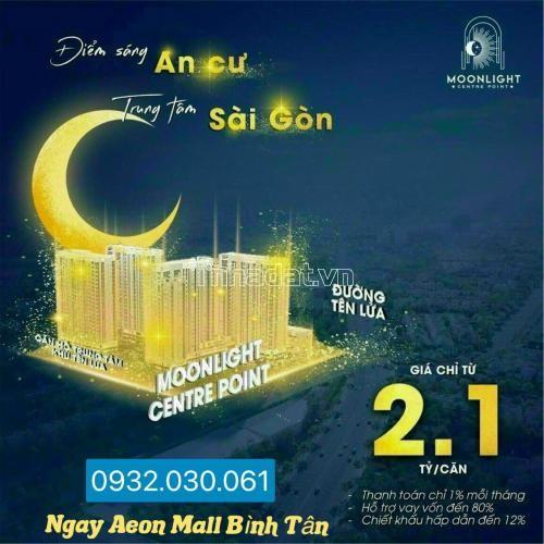 55tr/m2 tại moonlight center point , chiết khấu tới 8% ngay aeon mall bình tân 0932030061