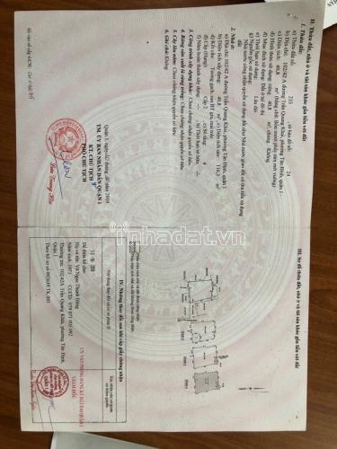 Giá : 5,350 tỷ. Nhà 102/42A Trần Quang Khải, Phường Tân Định, Quận 1.