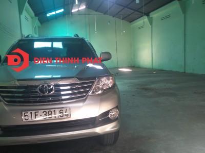 Cho thuê nhà xưởng đường Bình Long quận Bình Tân 250m giá 22tr