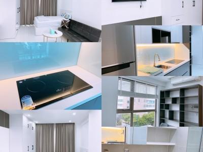 Cho thuê 1 căn Office 1 Phòng ngủ Millennium 132 Bến Vân Đồn, Q4. Giá thuê : 12 triệu / tháng.