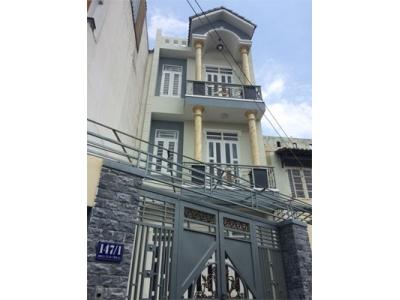 Nhà bán hẻm Nguyễn Văn Quá Quận 12