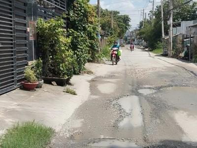 Đất mặt tiền Thạnh Xuân 43, cách Hà Huy Giáp 200m, thổ cư hết giá 29 triệu/m thương lượng nhẹ.