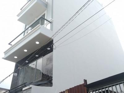 Nhà đã hoàn thiện, đường Mã Lò, Quận Bình Tân. Kết cấu 1 lửng, 3 lầu, st. Giá 4,1 tỷ.