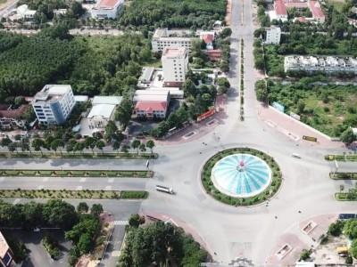 Đất nền sổ hồng riêng chỉ 18 triệu/m2 ngay mặt tiền Nguyễn Hữu Cảnh, Nhơn Trạch, Đồng Nai.
