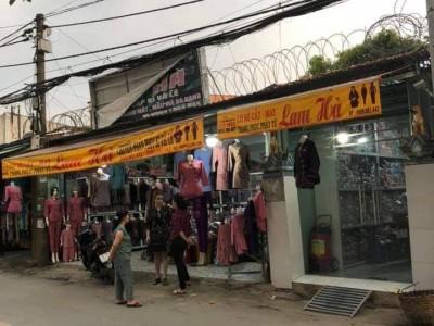 Bán nhà mặt tiền kinh doanh sầm uất. Lối vào Chùa Hoằng Pháp, Hóc Môn. Giá 9.5 tỷ thương lượng.