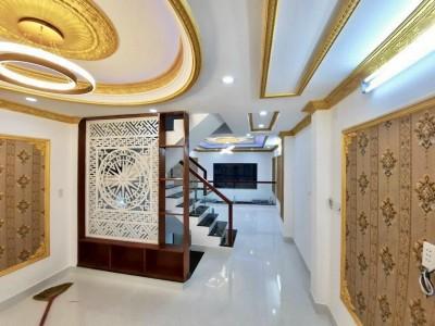 Nhà bán Đường số 18B, Bình Tân 47m2, 5 lầu, 4PN, 3WC giá chỉ có 5.3 tỷ
