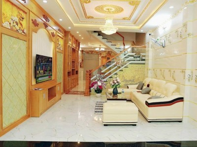 Bán nhà Bình Trị Đông B, Khu Tên Lửa MT Đường Số 24, KDC Tên Lửa, BTĐ B, Quận Bình Tân. Giá : 10 tỷ 9.