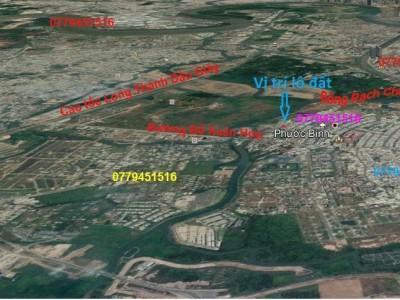 Bán 949m2 đất full thổ cư Phước Bình, Quận 9. Giá 25 tỷ.