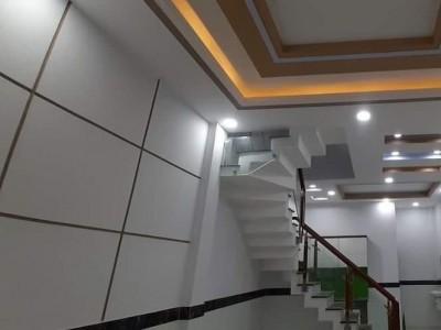 Nhà bán HXH Bùi Tư Toàn, Bình Tân 41m2, 5PN, 3WC nở hậu phát lộc