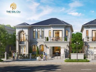 Mở bán giai đoạn 1 (fo) trong dự án khu đô thị THE SOL CITY