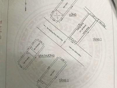 Mặt tiền nội bộ cư xá Phan Xich Long, P.1, Phú Nhuận, Tp.HCM