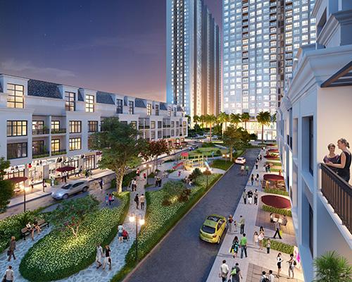 Bán căn hộ chung cư, dự án Hà Nội Homeland, phường Thượng Thanh, quận Long Biên, Hà Nội, diện tích 58m2