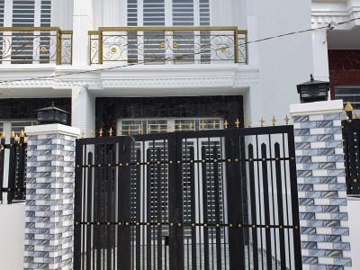 Cần bán căn nhà 80m2, 1trệt 1 lầu 3 phòng ngủ đã có sổ hồng ở Bình Chánh