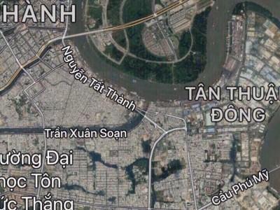 Bán lô đất 4 mặt tiền Nguyễn Văn Linh, Phú Thuận, Q7. Giá: 400 tỷ chốt.
