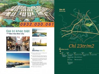 biên hòa new city - biệt thự view sông và sân golf long thành ,sổ đỏ trao tay chỉ 23tr/m2 0932030061