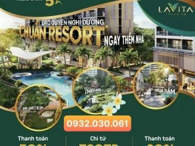 căn hộ lavita thuận an chỉ từ 1.8ty/căn 2pn , thanh toán 30% nhận nhà 0932030061