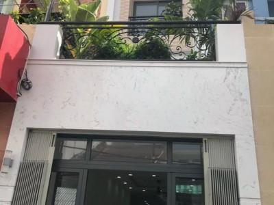 Bán nhà 3 lầu nằm ngay vị trí trục đường Trần Khắc Chân trung tâm. Mình bán giá 12,2 tỷ.
